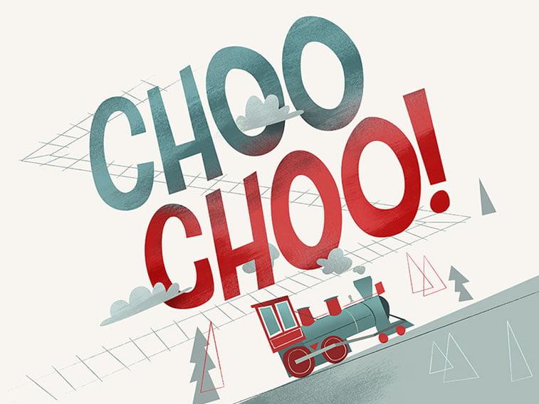 choochoo train illustration