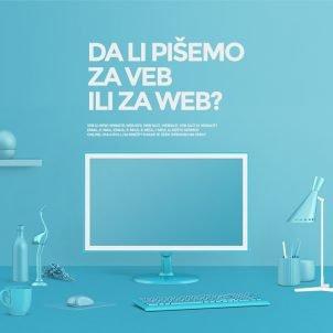 Da li pišemo za veb ili za web?