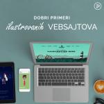 Dobri primeri ilustrovanih vebsajtova