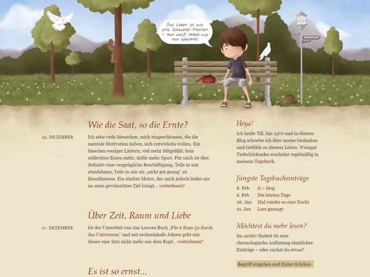 Dobri primeri ilustrovanih vebsajtova 9