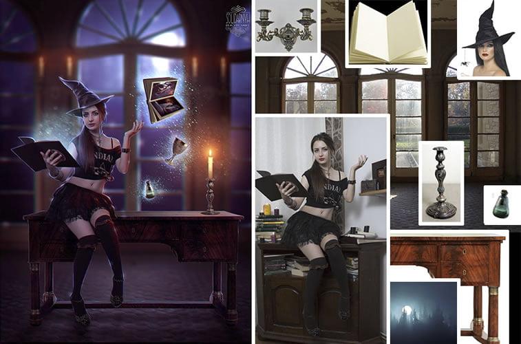 Foto manipulacije talentovane ukrajinske dizajnerke 1