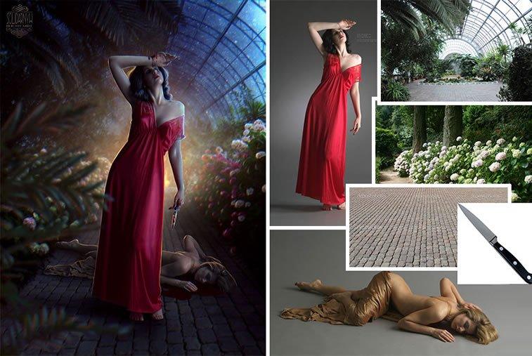 Foto manipulacije talentovane ukrajinske dizajnerke 11