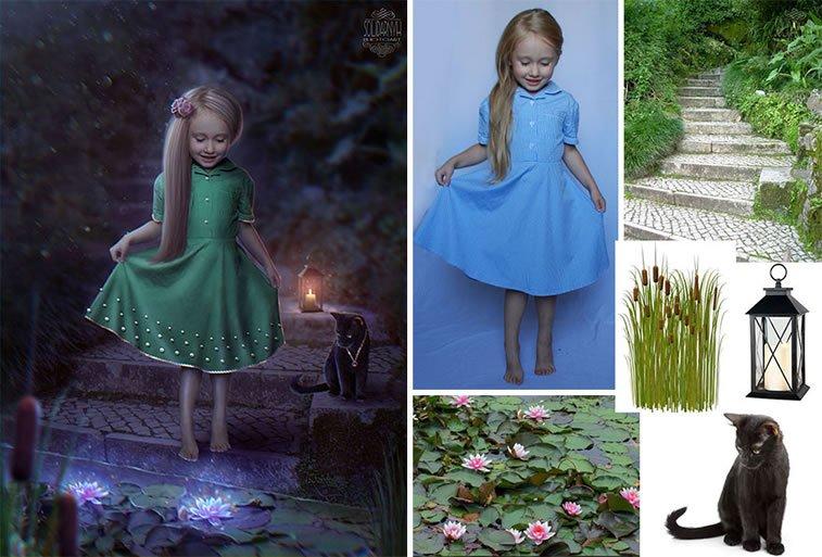 Foto manipulacije talentovane ukrajinske dizajnerke 12