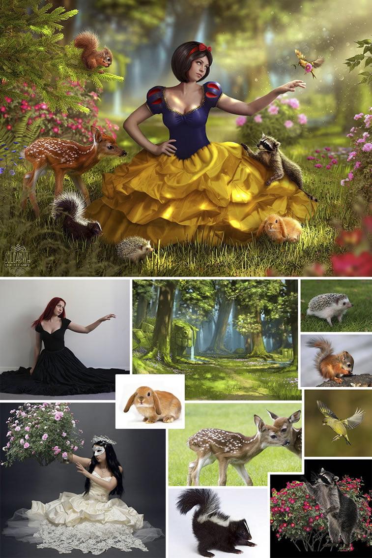 Foto manipulacije talentovane ukrajinske dizajnerke 16