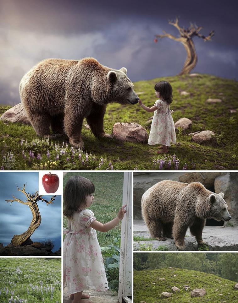 Foto manipulacije talentovane ukrajinske dizajnerke 21