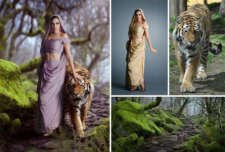 Foto manipulacije talentovane ukrajinske dizajnerke 3