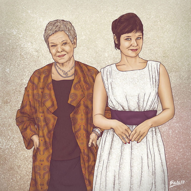 Nekad i sad: ilustracije Fulvija Obregona 6