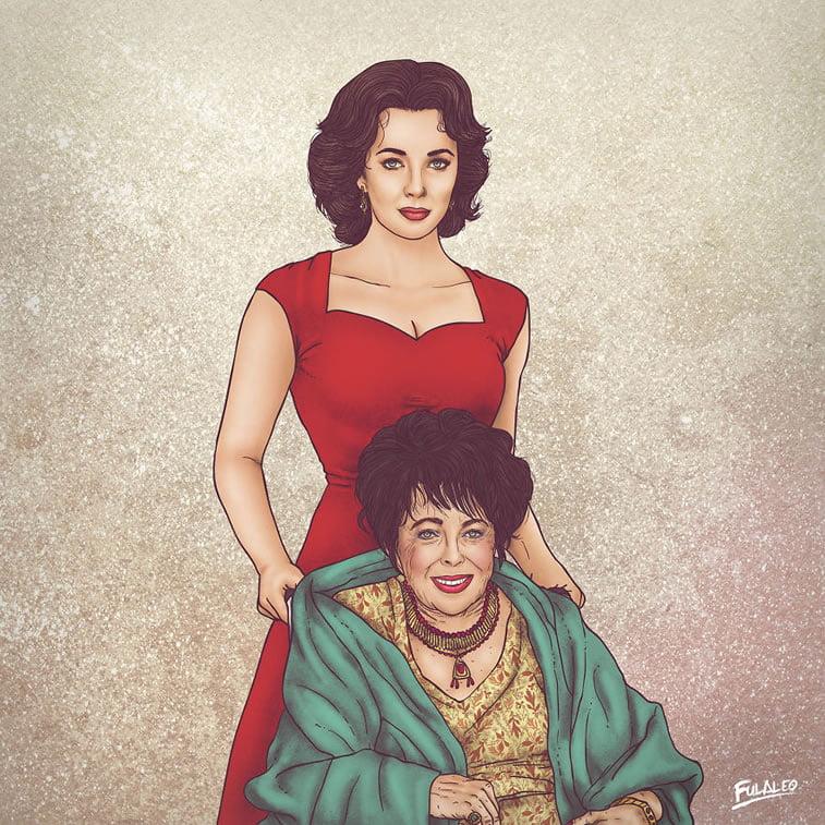 Nekad i sad: ilustracije Fulvija Obregona 7