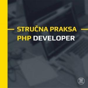 Stručna praksa: PHP developer