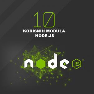 10 korisnih modula node.js