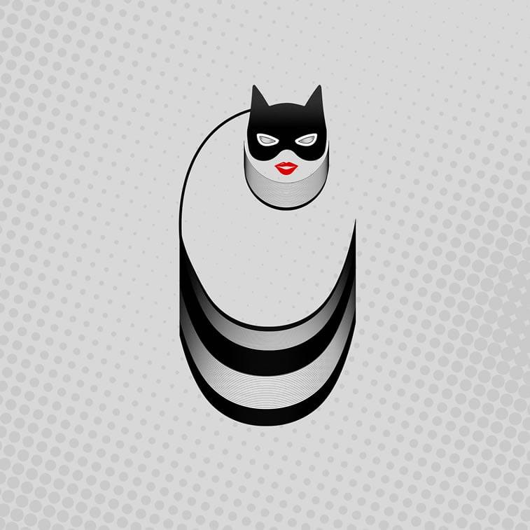 Tipografija inspirisana superherojima 3