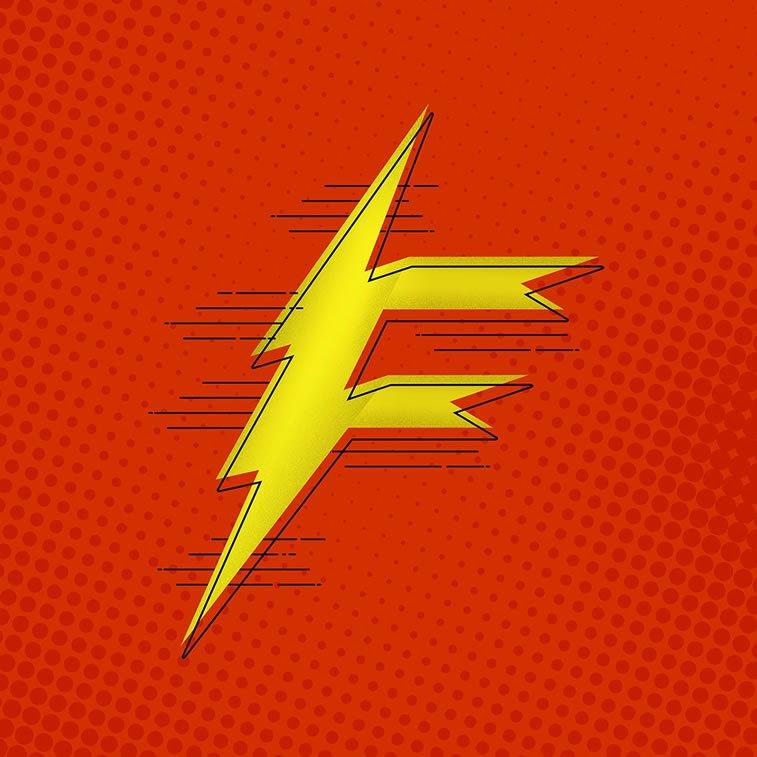 Tipografija inspirisana superherojima 5