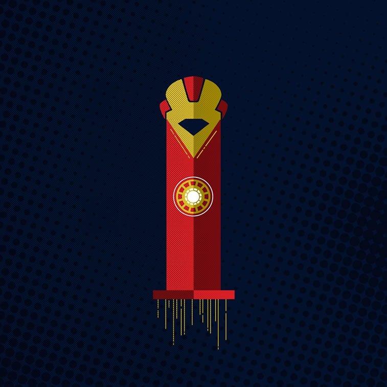 Tipografija inspirisana superherojima 7