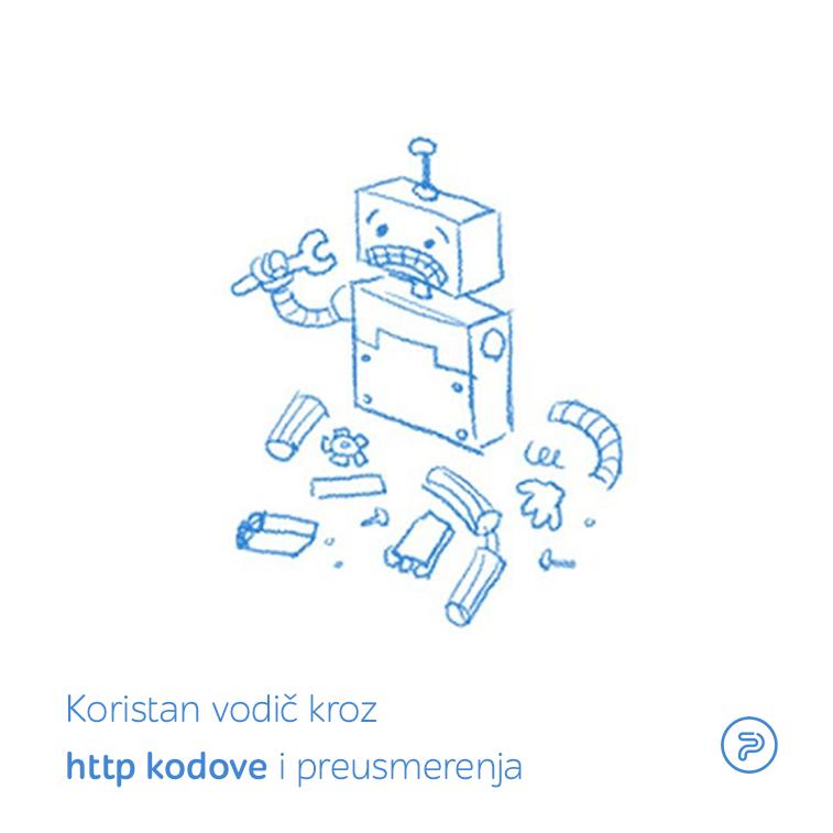Koristan vodič kroz http kôdove i preusmerenja