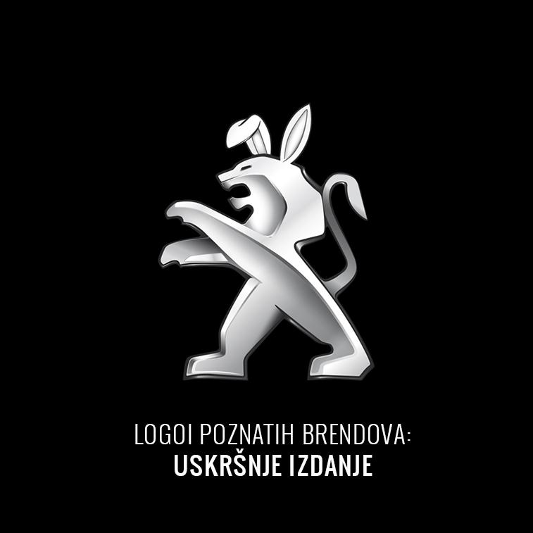 Logoi poznatih brendova: uskršnje izdanje