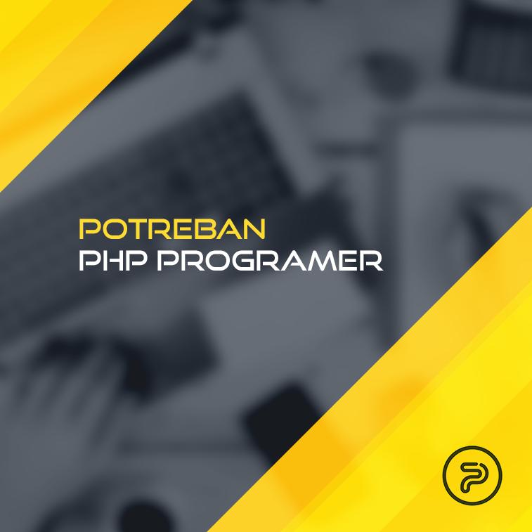 Potreban PHP programer