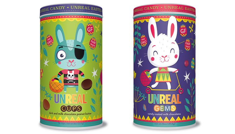 steve simpson illustrated packaging unreal candy 3