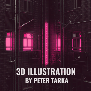 3d illustration by Peter Tarka