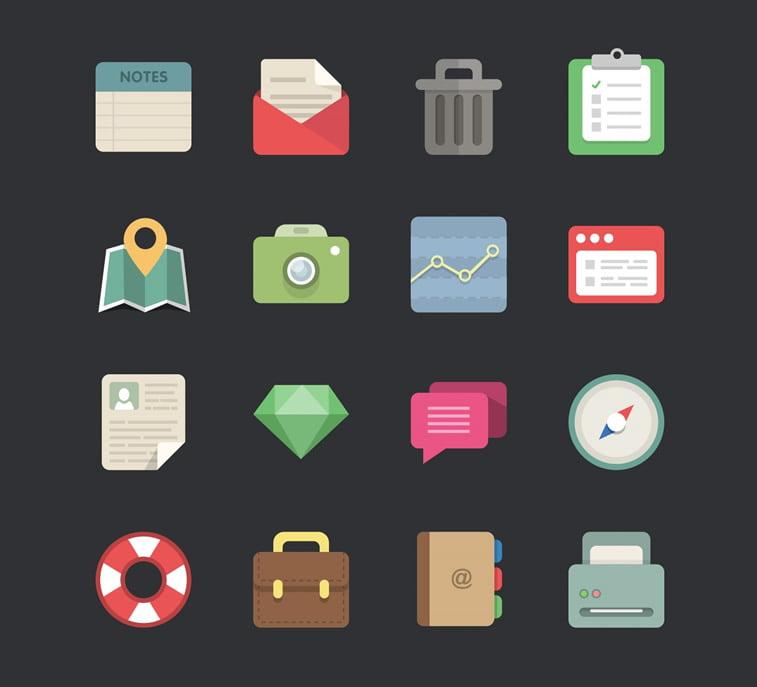 48 free icons webdesigner depot
