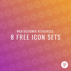 Web designer resources: 8 free icon sets
