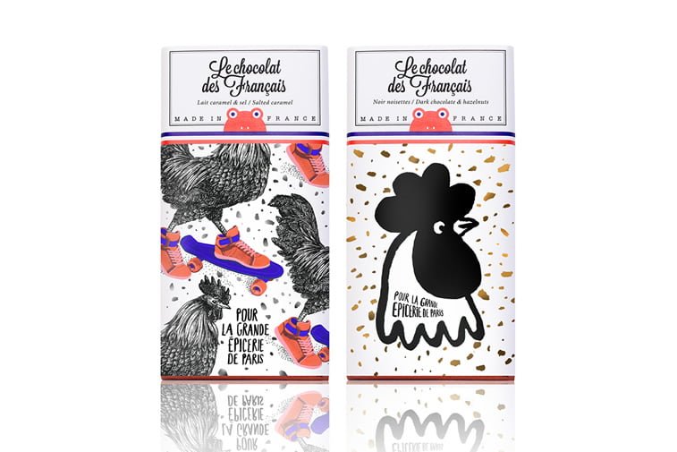 chocolate packaging design le chocolat des francais
