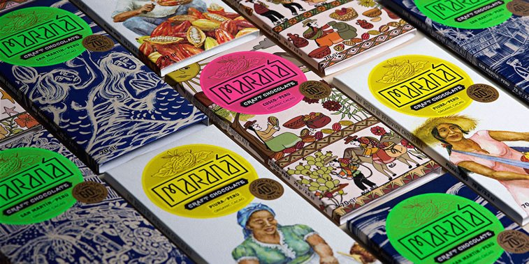 chocolate packaging design marana