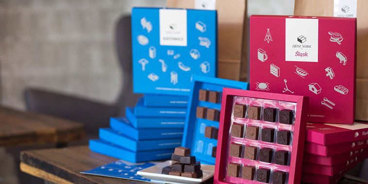 chocolate packaging design taste silesia