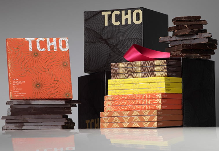 chocolate packaging design tcho