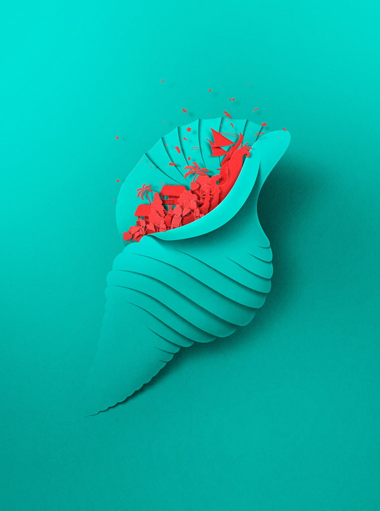 eiko ojala illustration wellington summer city 2