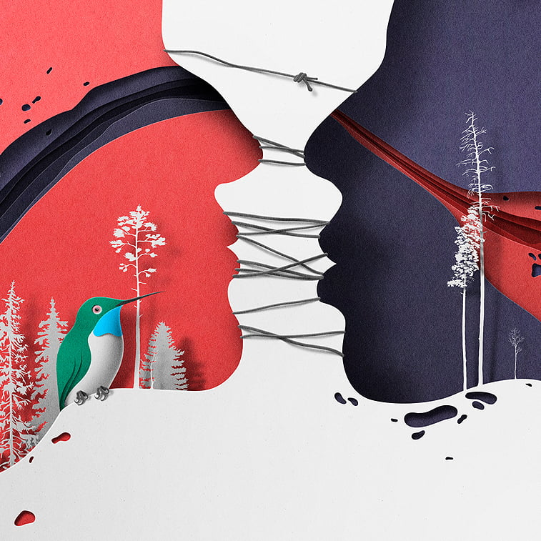 A game of light and shadow by Eiko Ojala