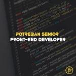 potreban senior frontend developer