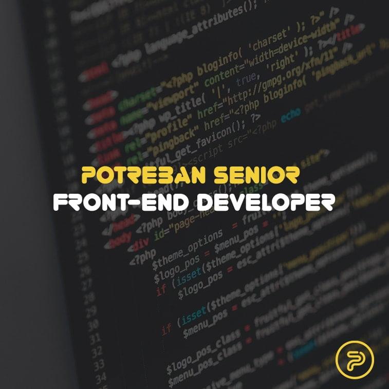 Potreban senior front-end developer