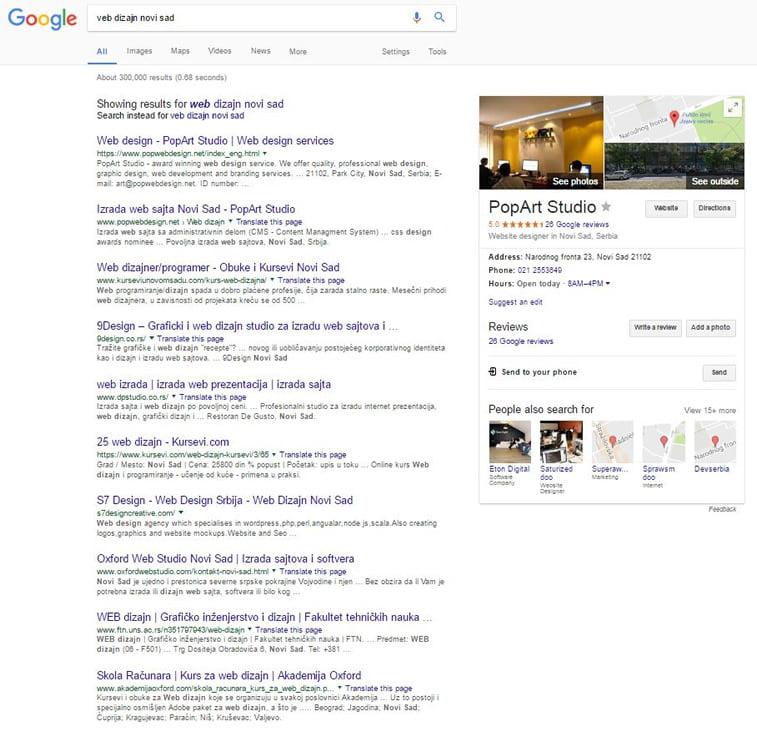 Zašto napraviti poslovni vebsajt 1