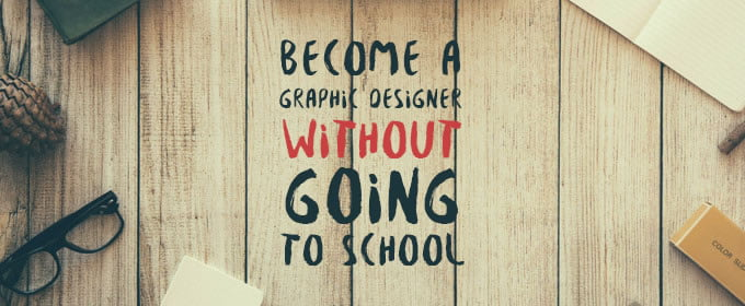 1 how to become graphic designer no school