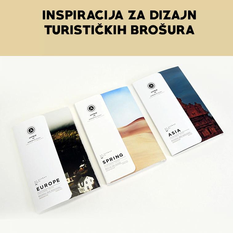 Inspiracija za dizajn turističkih brošura