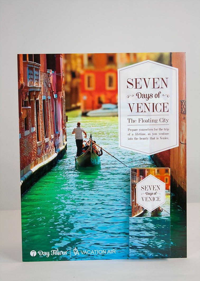 dizajn turističkih brošura 1 posetite veneciju