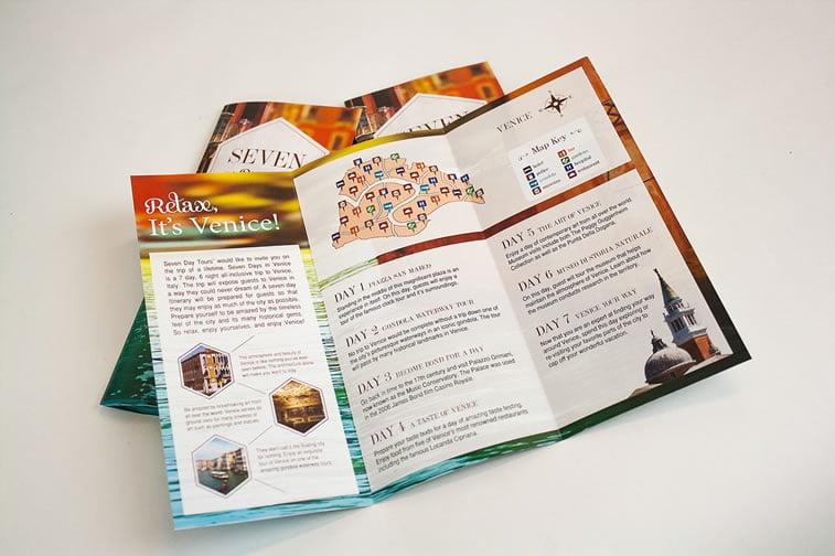 dizajn turističkih brošura 4 trostrana brošura na preklop