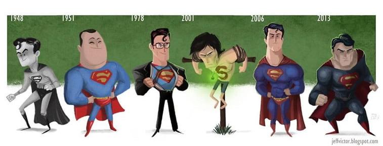 Ilustracije poznatih ličnosti kroz karijeru 27