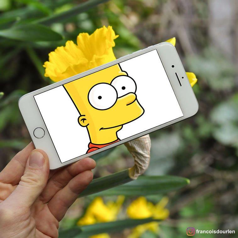 """Likovi iz """"Simpsonovih"""" u stvarnom životu 1"""