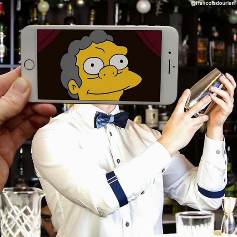 """Likovi iz """"Simpsonovih"""" u stvarnom životu 4"""