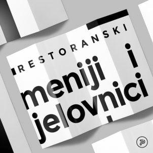 Restoranski meniji i jelovnici – 15 odličnih primera