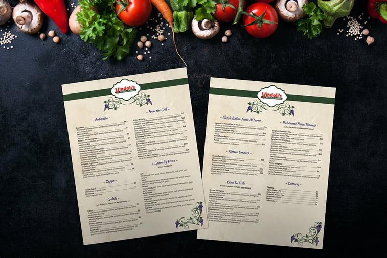 Restoranski meniji i jelovnici – 15 odličnih primera 10