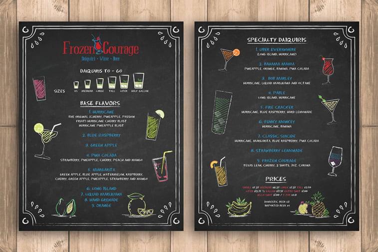 Restoranski meniji i jelovnici – 15 odličnih primera 12