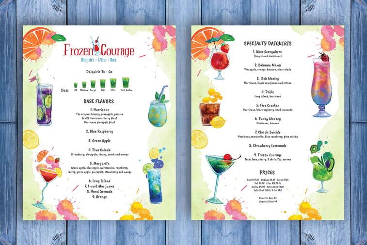 Restoranski meniji i jelovnici – 15 odličnih primera 13