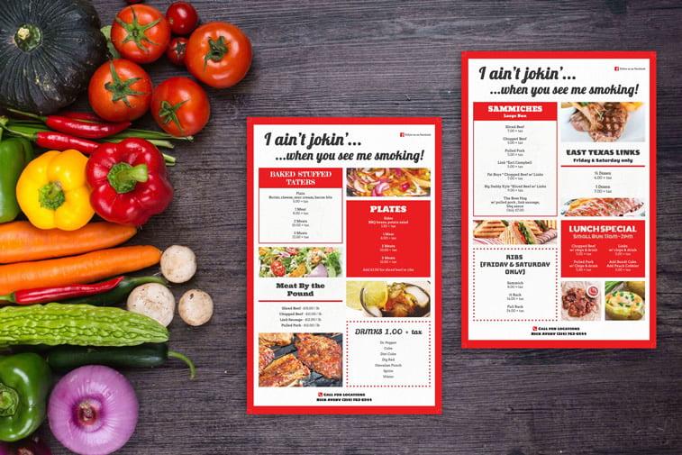 Restoranski meniji i jelovnici – 15 odličnih primera 2