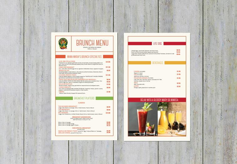 Restoranski meniji i jelovnici – 15 odličnih primera 3