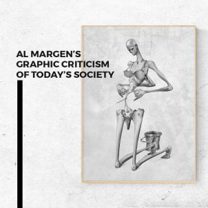 Al Margen's graphic criticism of today's society