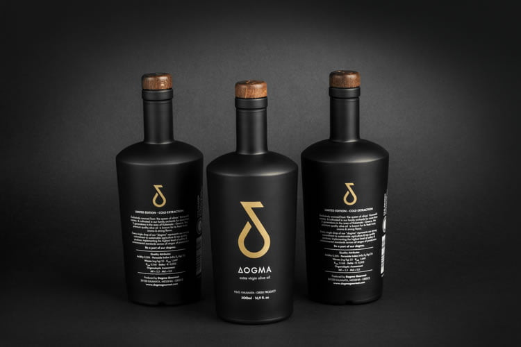 olive oil packaging dogma 1