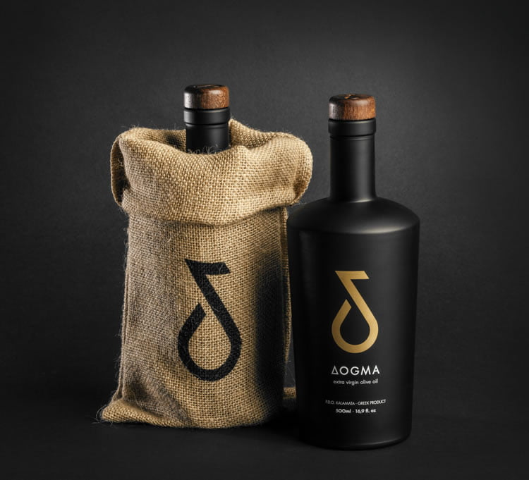 olive oil packaging dogma 2