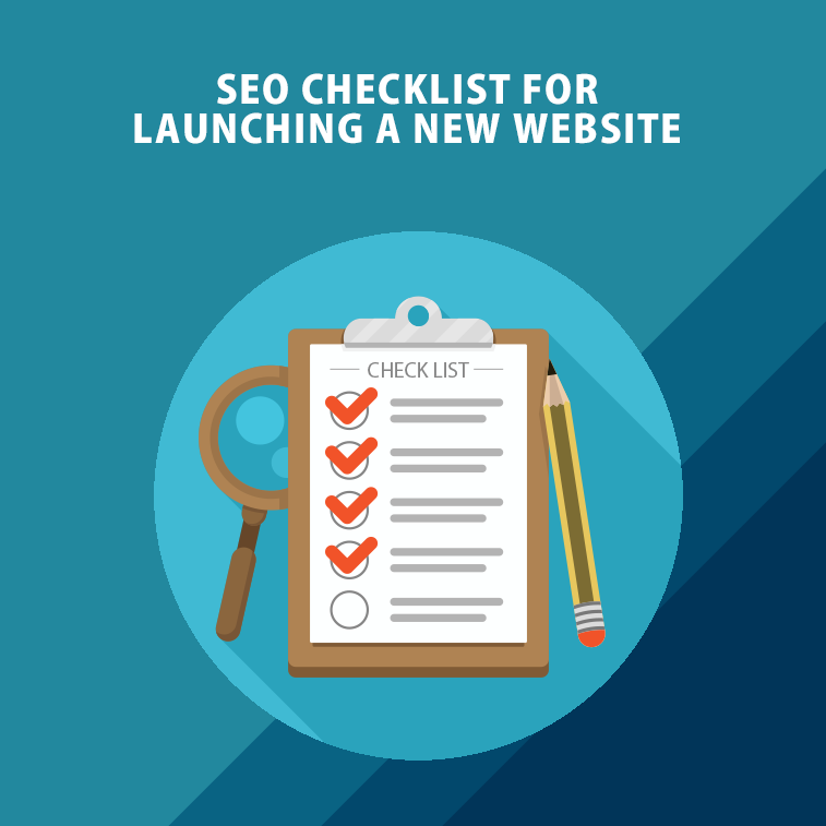 SEO checklist for launching a new website